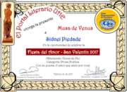 SIDNEIPIEDADE_Musa de Venus_Categoria_Ouro_Festa do amor_Fevereiro de 2017