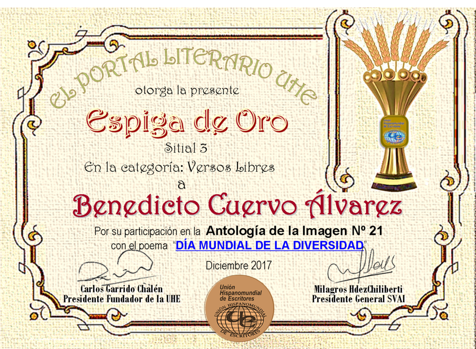 BENEDICTO CUERVO ÁLVAREZ