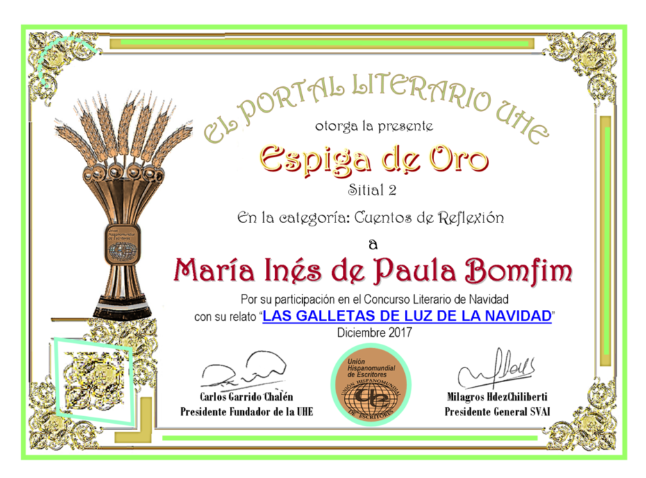 MARIA INES DE PAULA BOMFIM