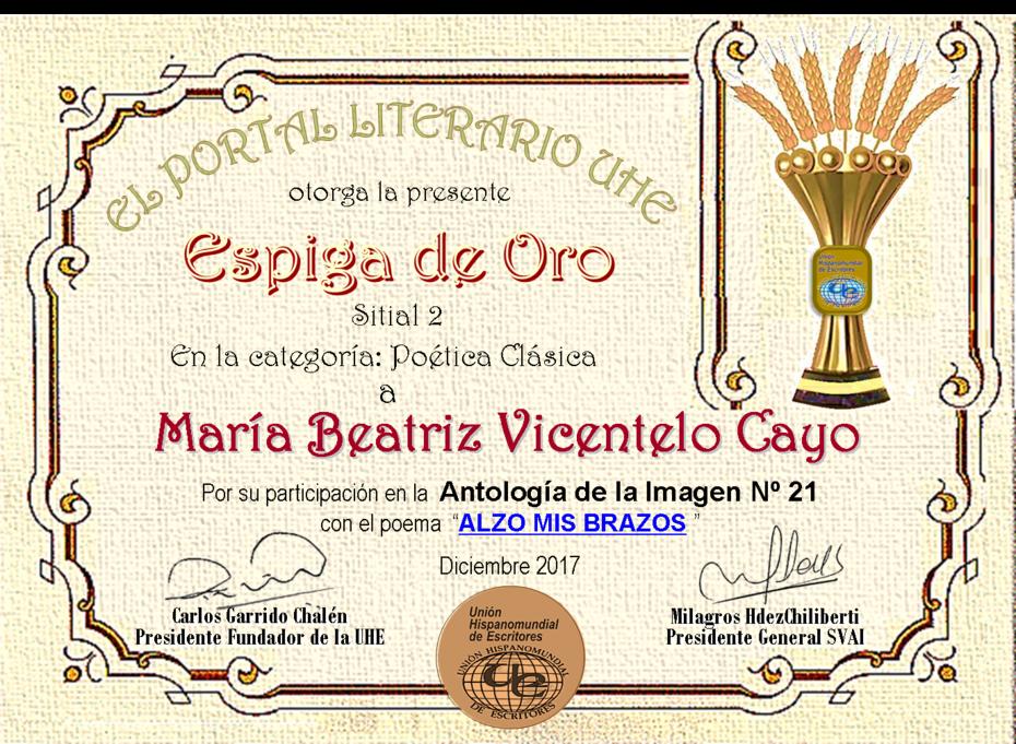 MARÍA BEATRIZ VICENTELO CAYO