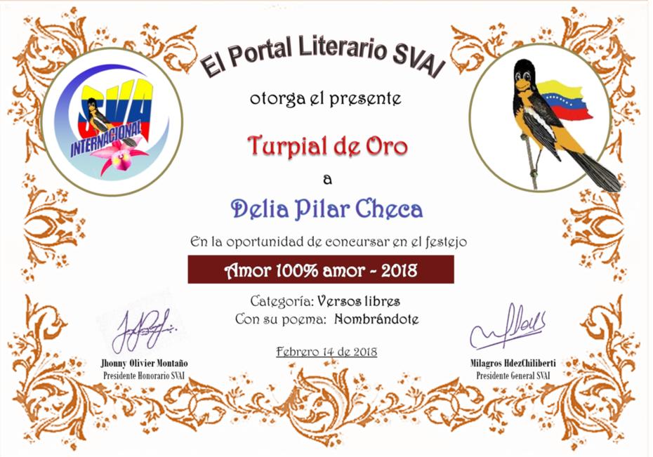 DELIA PILAR CHECA
