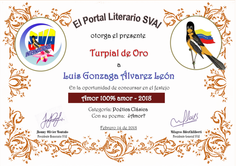 LUIS GONZAGA ÁLVAREZ LEÓN