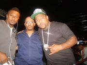 Me, Rhan Ferdinand (CEO/Owner, SERUM/ECMD/Universal Music Group) & Gorilla Zoe chillin in Cleavland