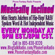 Musically Inclined On Phone Fantasy Radio