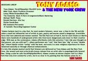 Tony Adamo & The New York Crew/SOULTRACKS