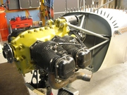 Reworked Continental engine mount