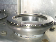 Disassembly pic 3 of thrust bearing interface