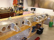 STOL CH 701 wing assembly