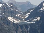 Hanging lake in Glacier National Park