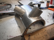 Modifications to Zenair Heat muff