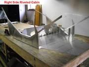 16 - Cabin Sides Riveted Together