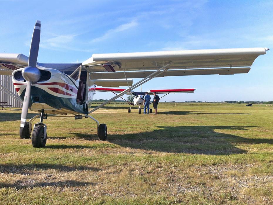 STOL CH 801 aircraft at Gundy's Airport (Tulsa, Oklahoma)