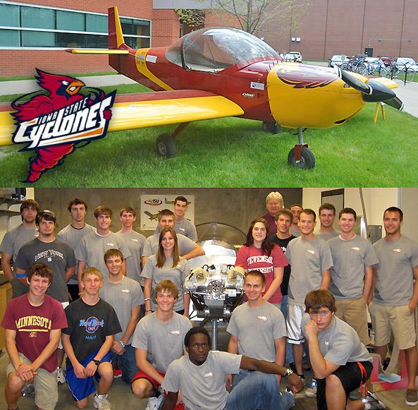 AirISU students complete Zenith kit plane