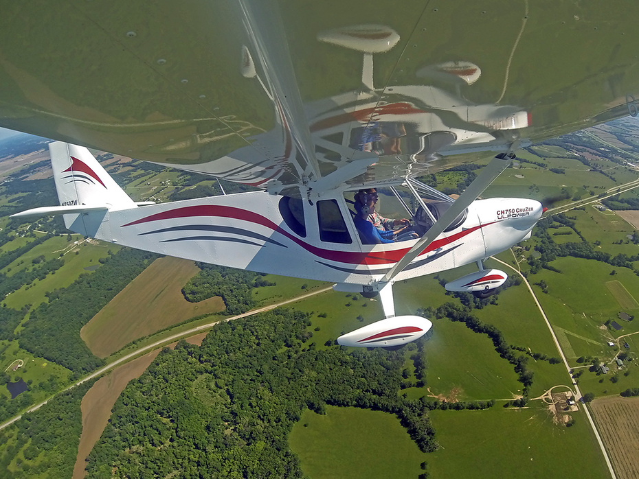 Flying the Zenith CH 750 Cruzer with my daugher Lucy