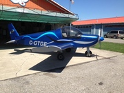 Completed plane: Zenith CH 200
