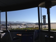 View from San Luis Obispo airport cafe (SBP)