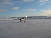 Zenith STOL on snow