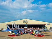 Group photo: Zenith Aircraft Company OPEN HANGAR DAY and FLY-IN