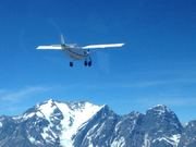 Mountain flying in the Andes