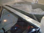 Top windshield trim.