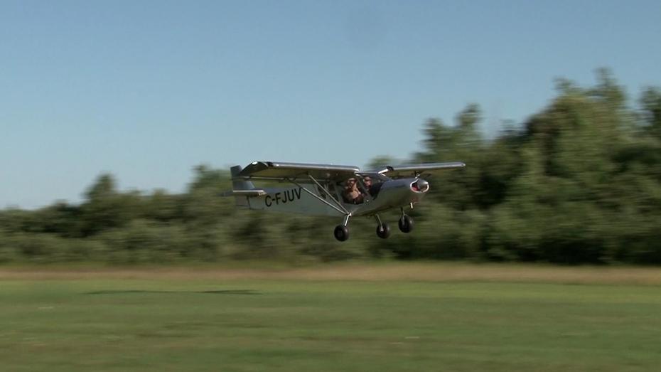 First take-off of C-FJUV