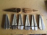 Inboard Flapperon Ribs