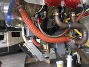 Franklin engine - Exhaust and Intake
