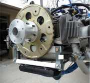 T4-Flywheel-Rear-Drive Setup