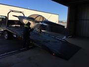 Unloading into the Hangar