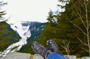 Mt. Rainier Foot Shot