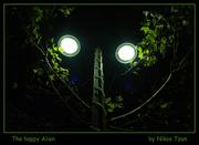 The happy Alien