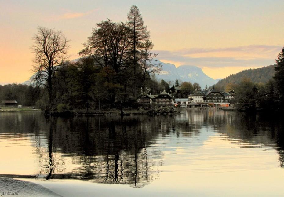Sunset in Koeningssee... Germany...