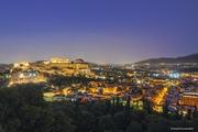 Η Αθήνα τη νύχτα