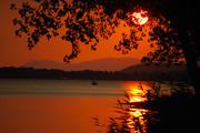 Εξωτικό ηλιοβασίλεμα στην .....Ηγουμενίτσα