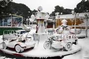 Χιονισμένη Πεντέλη 08-03-2011