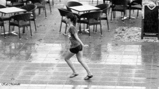 Έπιασε βροχή...!