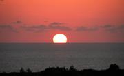 Ηλιοβασίλεμα στην Αγία Μονή Κυθήρων