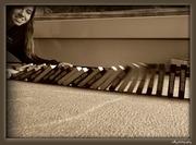 like a domino...