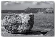 sea landscapes in b/w