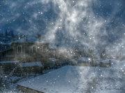 Αυγερινός με χιόνια