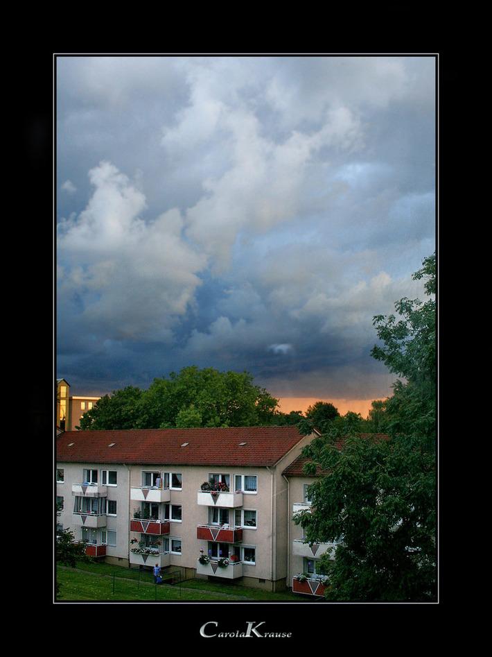 September Clouds II