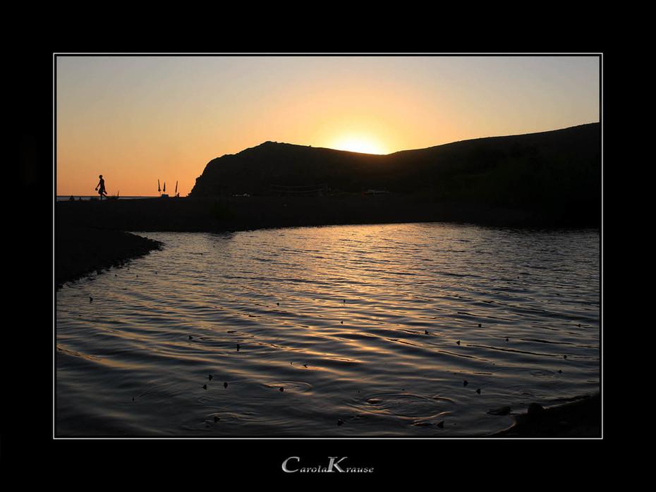 Hundreds of… Sunset Swimmers
