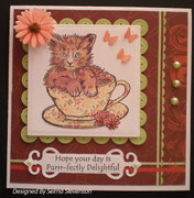 Hope Your Day is Purrr-fectly Delightful