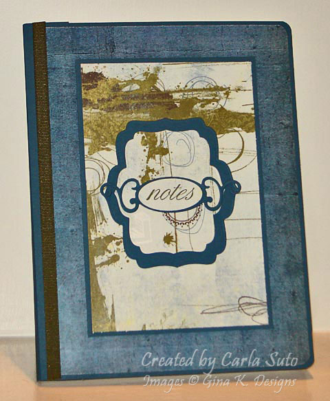 Masculine Altered Composition Book