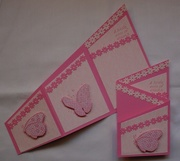 Trifold angle pink
