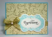 Congratulations (Shimmery Background)