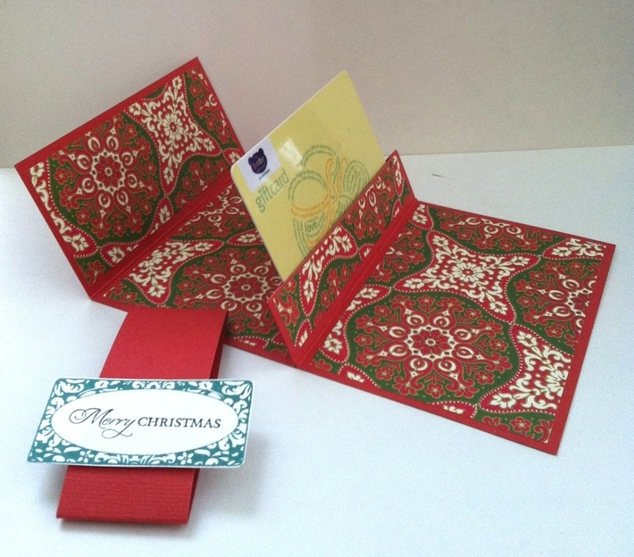 Fanciful Gift Card holder (STVMONVD4)