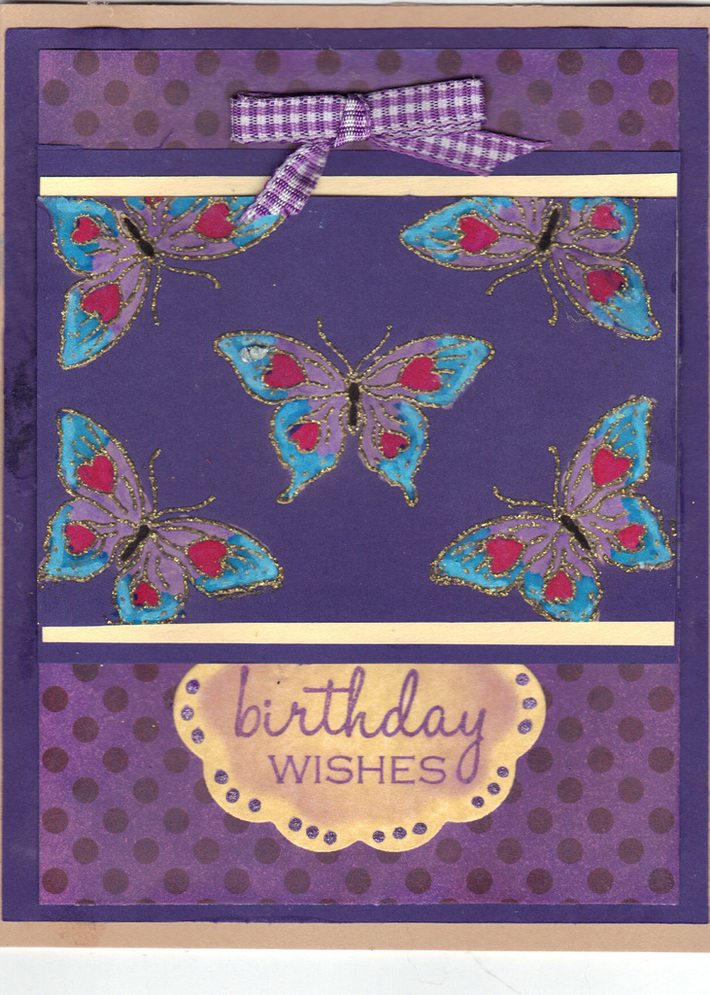 Gina's Birthday card