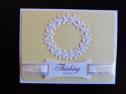 Spring Thinking of you wreath