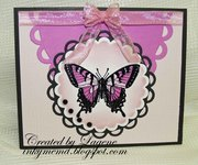 (2012 C#25) Pink Butterfly